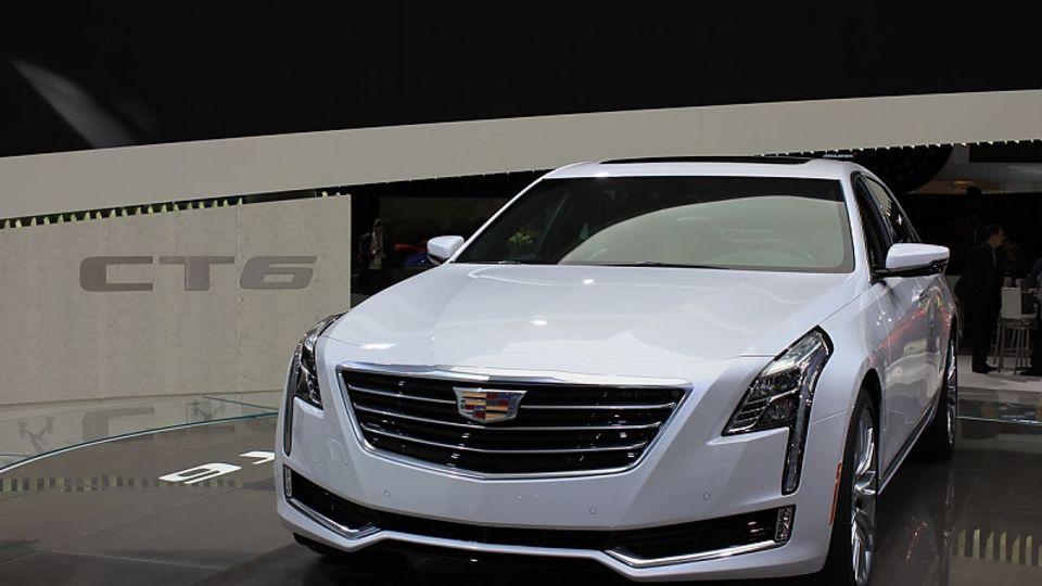 Cadillac CT6 - auch er kommt ohne Innenspiegel