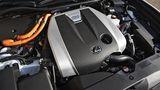 Das Hybridpaket des Lexus GS 450h kommt auf eine Systemleistung345 PS