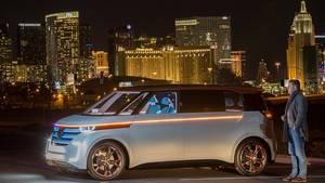 VW Budd-e - zumindest die Plattform soll 2019 / 2020 kommen
