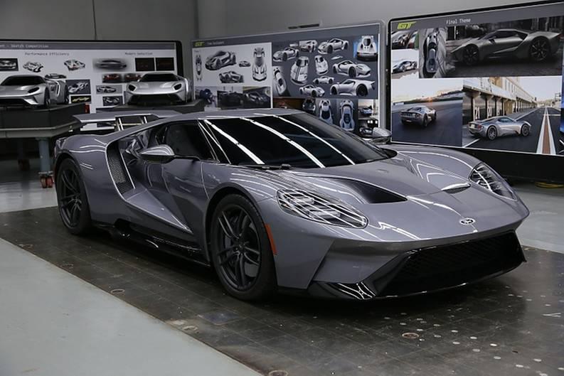 Dieses Modell ist der erste, echte, neue Ford GT.