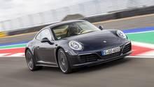Porsche Carrera 4S - schafft 303 km/h