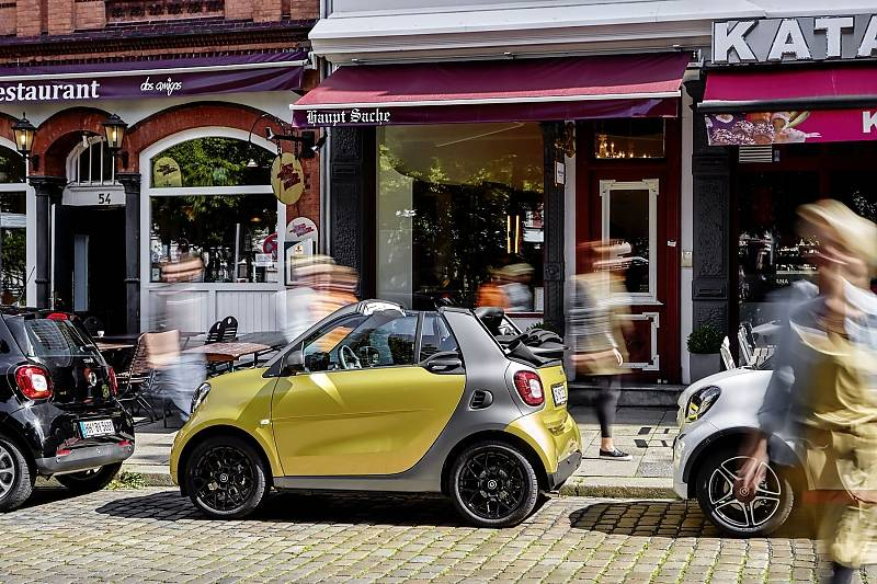Das Smart Fortwo Cabrio ist 2,69 Meter lang,...