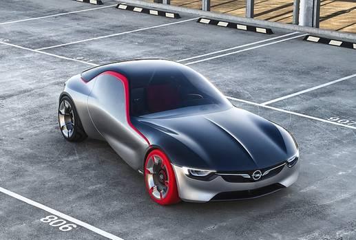 Opel GT Concept Genfer Salon 2016
