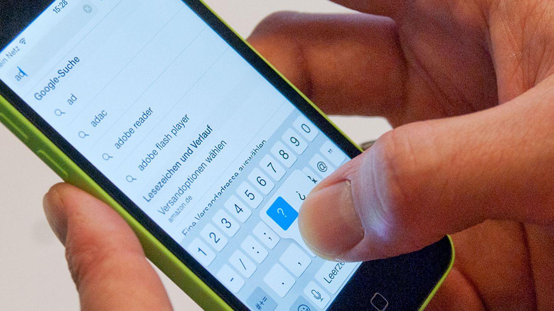 iPhone Browser Safari