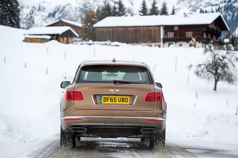 Bentley Bentayga 6.0 W12 - mit 609 PS