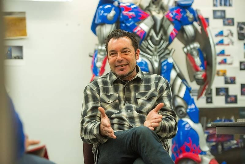 Chris Jory ist der Schöpfer des Film-Trucks