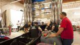 Das Team arbeitete rund um die Uhr, um Optimus Prime fertigstellen zu können