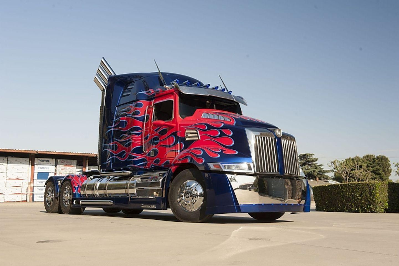 Der Optimus Prime Truck
