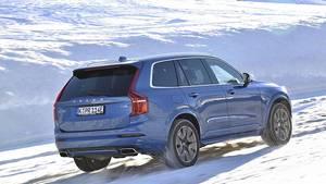 Der Volvo XC90 T8 Twin Engine ist ein Plu-In-Hybrid