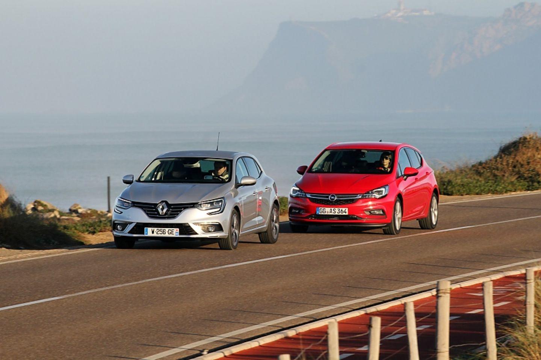 Vergleich Opel Astra 1.6 CDTI - Renault Megane 1.6 dCi
