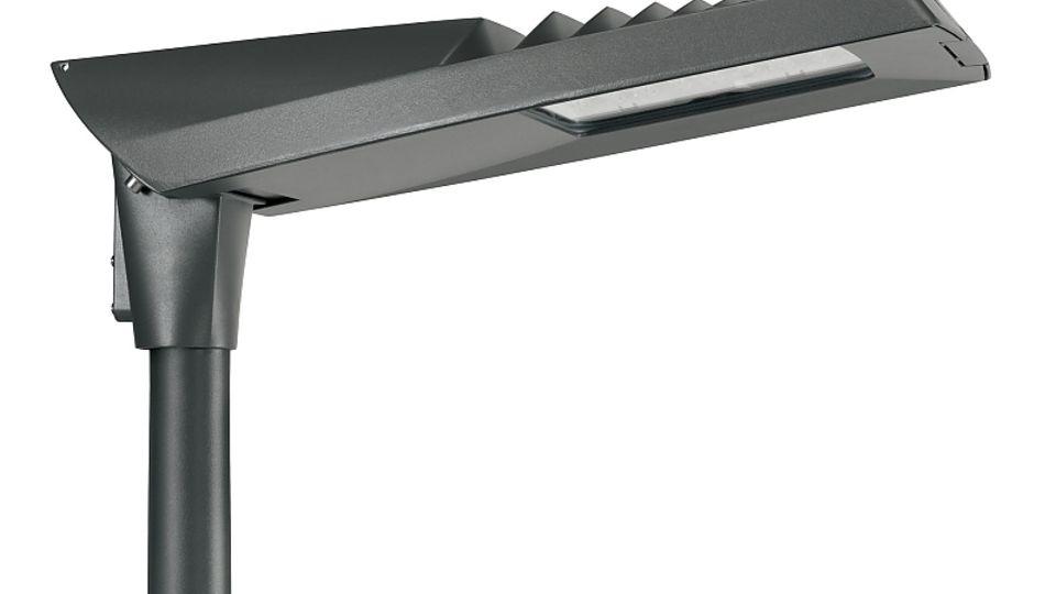 So schaut eine Hightech-LED-Straßenlaterne aus