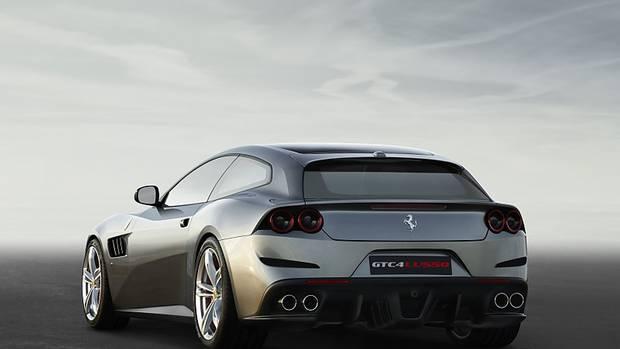 Ferrari GTC 4 Lusso - mit kraftvollem Heck