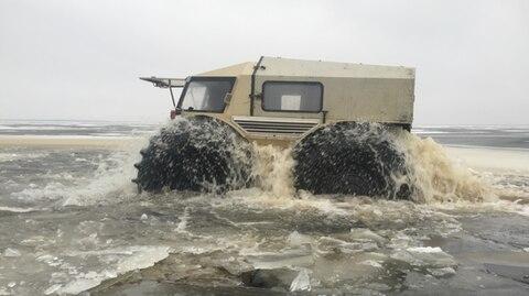 Keine Angst vor nassen Füßen.