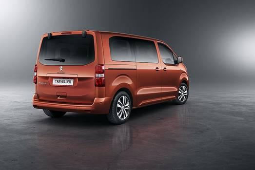 Peugeot Traveller - ist mit drei Radständen verfügbar