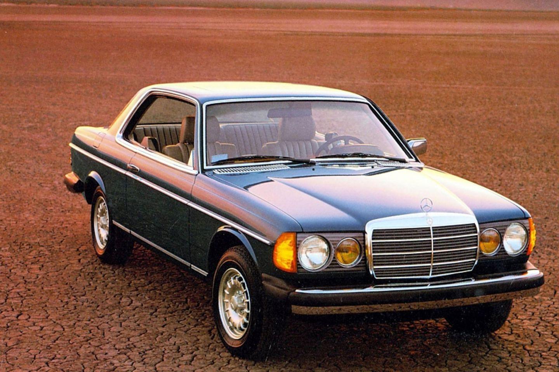 Exportschlager: Der Mercedes-Benz der oberen Mittelklasse (Baureihe 123, hier ein Coupé) verkaufte sich auch im Ausland gut, run