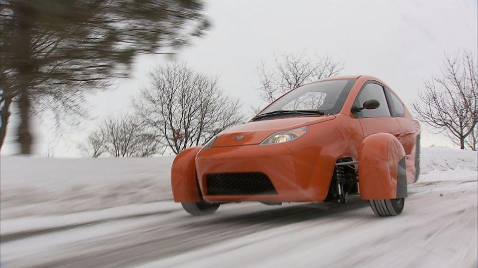 Bis zu 160 km/h soll er schnell sein.