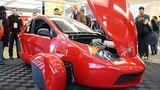 Der Dreizylinder-Benzinmotor des Elio.