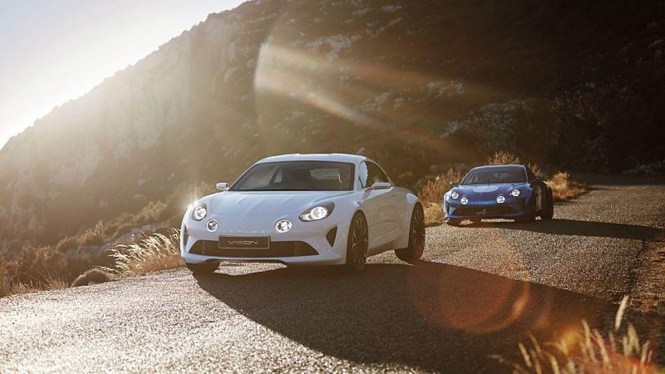 Der Alpine Vision schafft den Sprint von null auf 100 km/h in 4,5 Sekunden