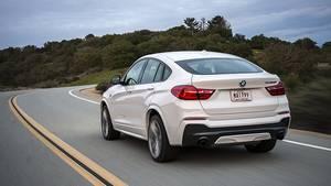 BMW X4 xDrive M40i - fällt kaum nennenswert auf