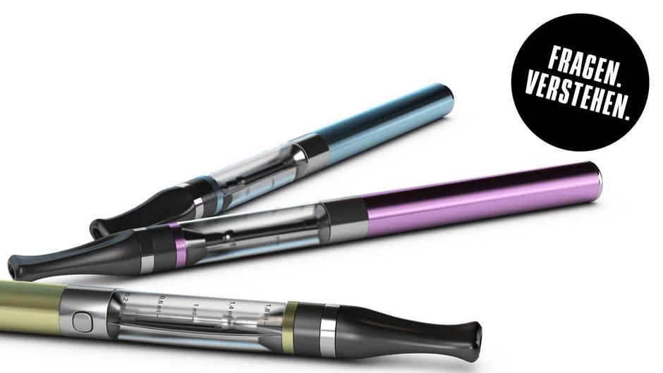 Wissenschaft schnell erklärt : E-Zigarette: Gesunde Entwöhnung oder pures Gift?
