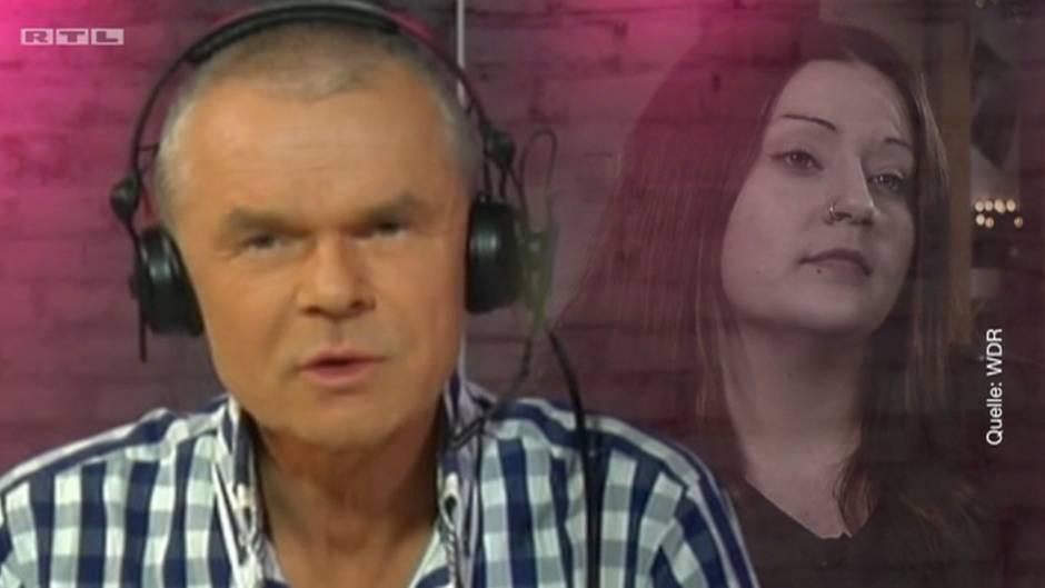Jürgen Domian und Anruferin Christina
