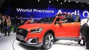 Audi Q2 - kommt im Sommer auf den Markt