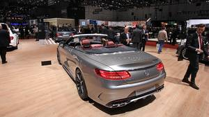Luxus-Gleiter Mercedes AMG S 63 Cabrio Edition 130