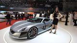 355 km/h ist der Rimac Concept One schnell.