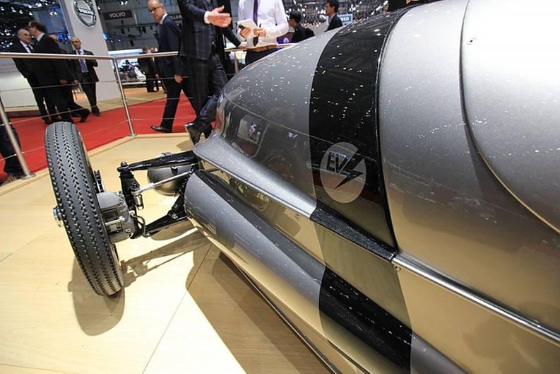 Der Morgan EV3 Concept hat eine Reichweite von rund 240 Kilometern