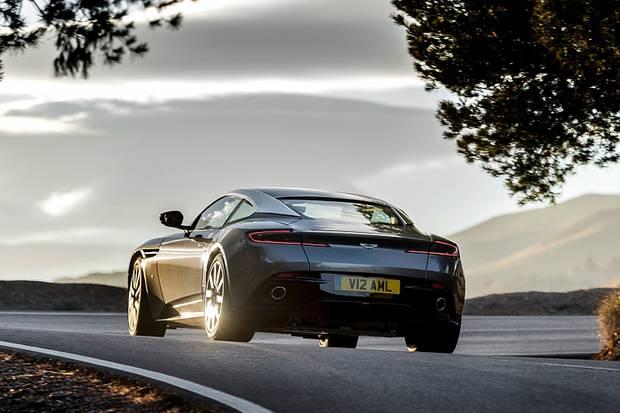 Aston Martin DB11 - spektakulär: das Heck