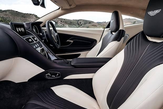 Aston Martin DB11 - Luxus im Innern