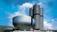 BMW Firmensitz am Münchner Petuelring