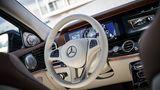 Das Cockpit des Mercedes E 220d