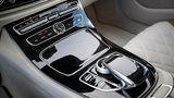Mercedes E 220d - die Bedienung in der Mittelkonsole ist verbesserungswürdig