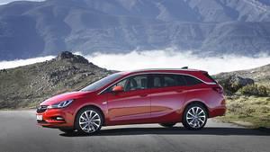 Der Opel Astra Sports Tourer 1.6 BiTurbo CDTI kann sich sehen lassen