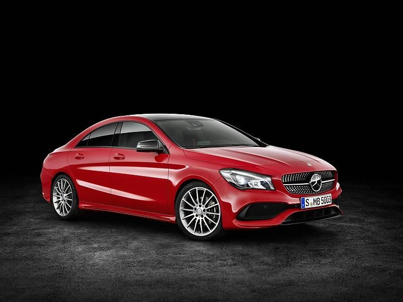 Mercedes CLA Modellpflege 2016 - Marktstart ist dann im Juli