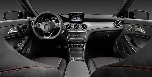 Mercedes CLA Modellpflege 2016