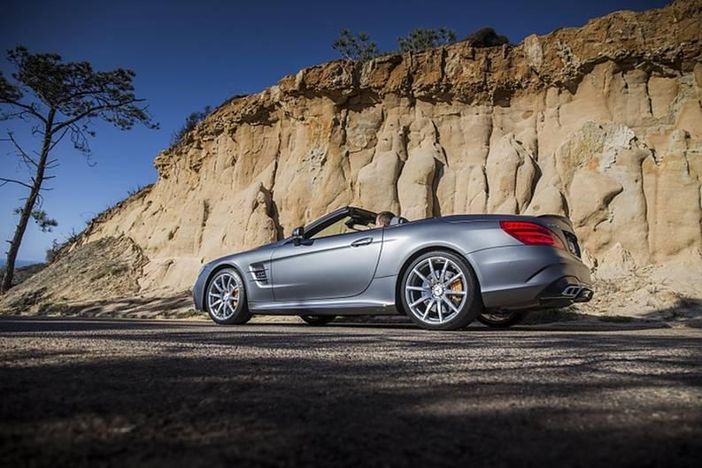 Mercedes AMG SL 65 - eleganter Auftritt