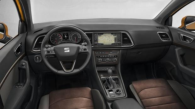 Der Innenraum des Seat Ateca 2.0 TDI 4Drive DSG