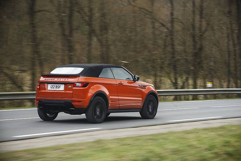 Das Range Rover Evoque Cabrio kommt am 4. Juni auf den Markt