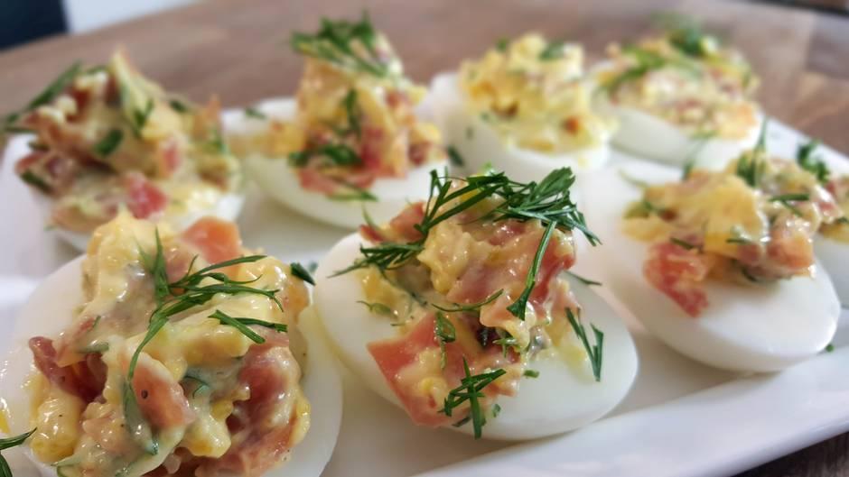 Rezept-Quickie: Mit diesen genial gefüllten Eiern begeistern Sie beim Brunch