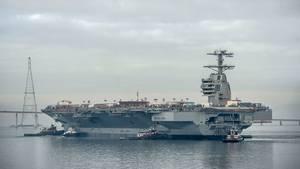 In wenigen Wochen wird die USS Gerald R. Ford in Dienst gestellt.