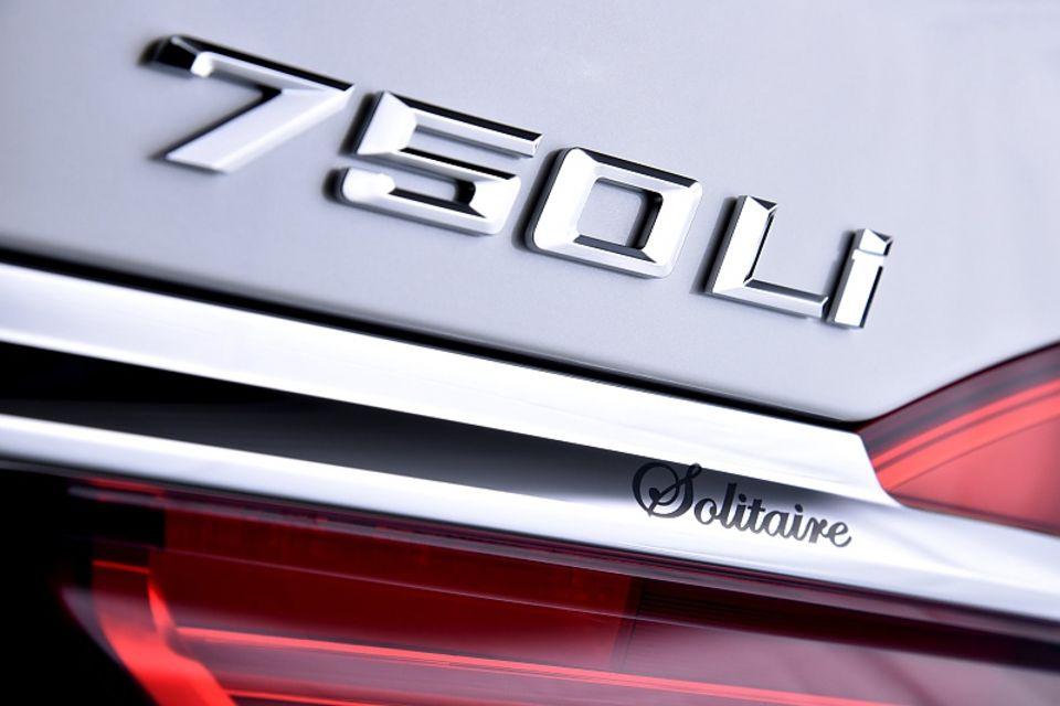 BMW 750 Li Solitaire - nur für die Vereinigten Arabischen Emirate