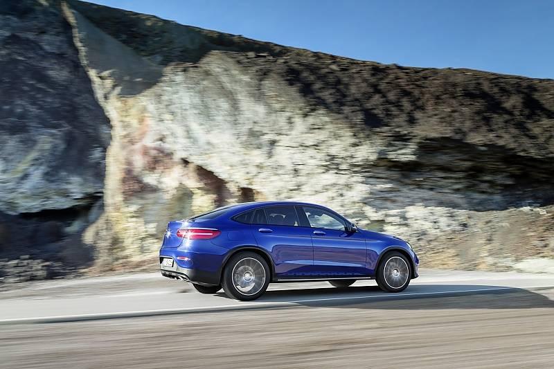 Mercedes GLC Coupé - acht Zentimeter länger als der GLC