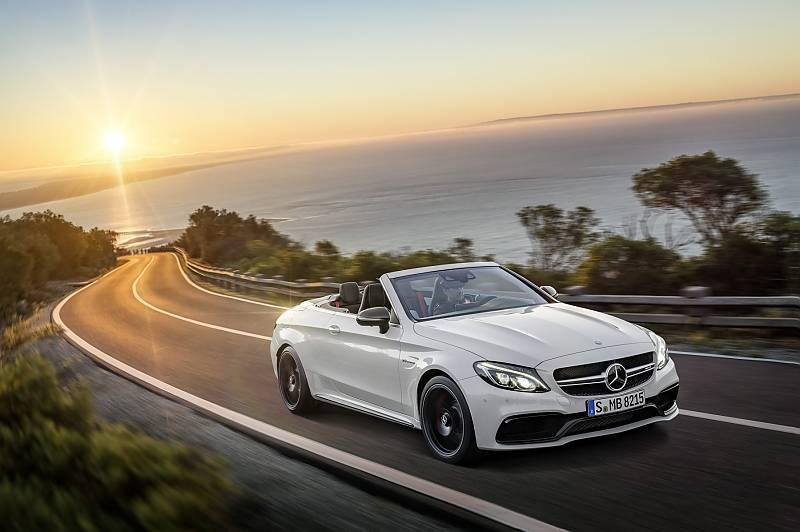 Mercedes AMG C 63 Cabrio - perfekt für die Küstentour