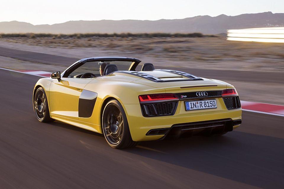 Audi R8 Spyder - optisch sehr nah am Vorgänger
