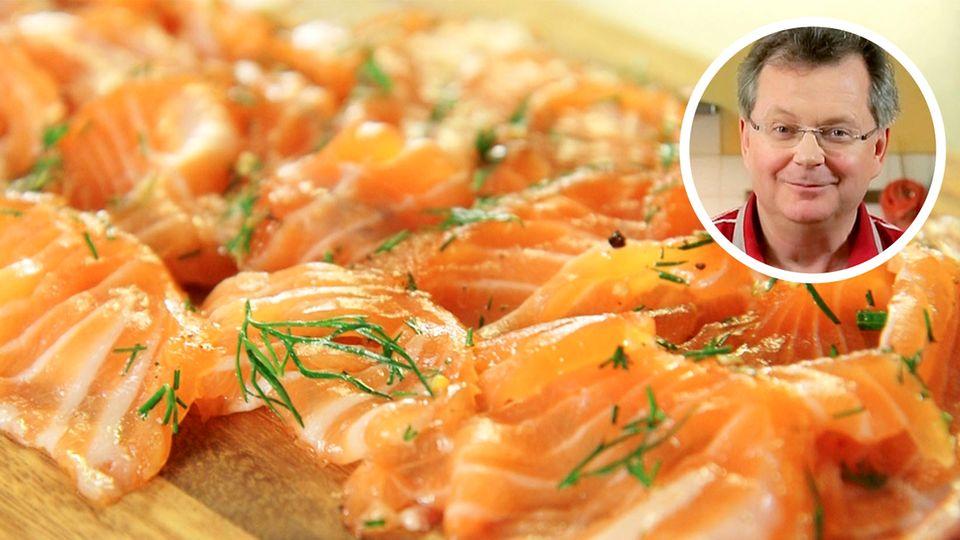 Sternekoch zeigt: So bereiten Sie gebeizten Lachs auf Gourmetniveau in der eigenen Küche zu
