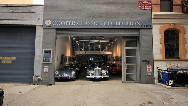 Mitten drin und dennoch gut versteckt: Cooper Classics Collection.