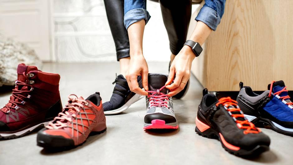 Studie: Schuhe im Netz kaufen