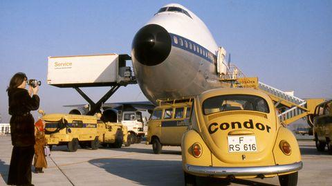 Mit dem Jumbojet vergrößerte sich auch das Streckennetz: Zusammen mit der DC-10-30 wurden auch Ziele in Asien, Afrika und der Karibik angeflogen